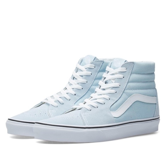 63917694288 Light blue Vans Hightop Sneakers New w o Box. M 5ac272dba825a6635b627031